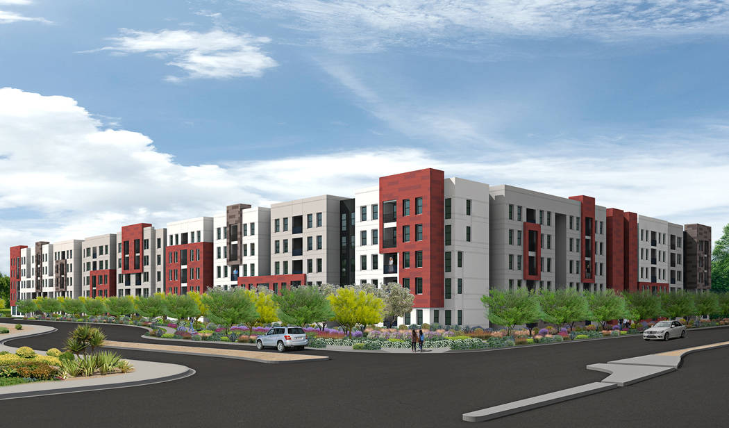 UNLV has partnered with local real estate developer The Midby Cos. to build a dormitory-style housing project on the north side of UNLVճ main campus. Dubbed U District, the development aims to re ...