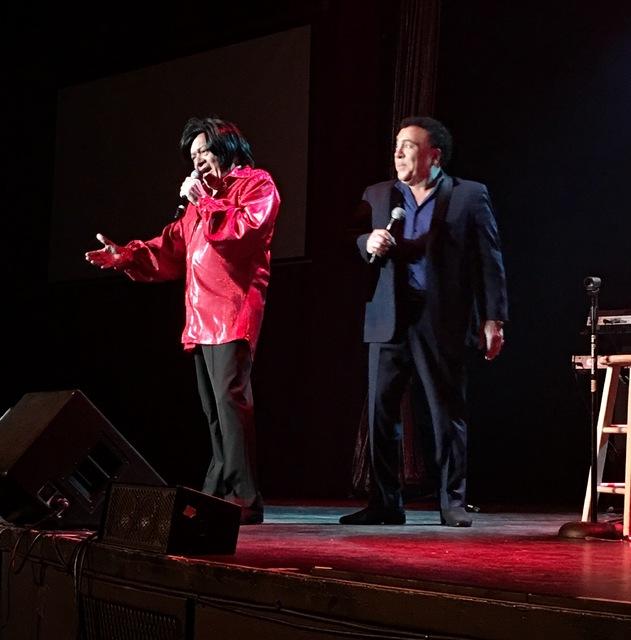 Joey Scinta as Neil Diamond as Frankie Scinta as ... Frankie Scinta at the Plaza Showroom on Saturday, Nov. 12, 2016 in downtown Las Vegas. (John Katsilometes/Las Vegas Review-Journal)