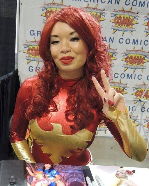 Chandler Rice/Great American Comic Con Las Vegas A Cashman Center exhibitor gets into the Wonder Woman spirit at 2016's Great American Comic Con Las Vegas.