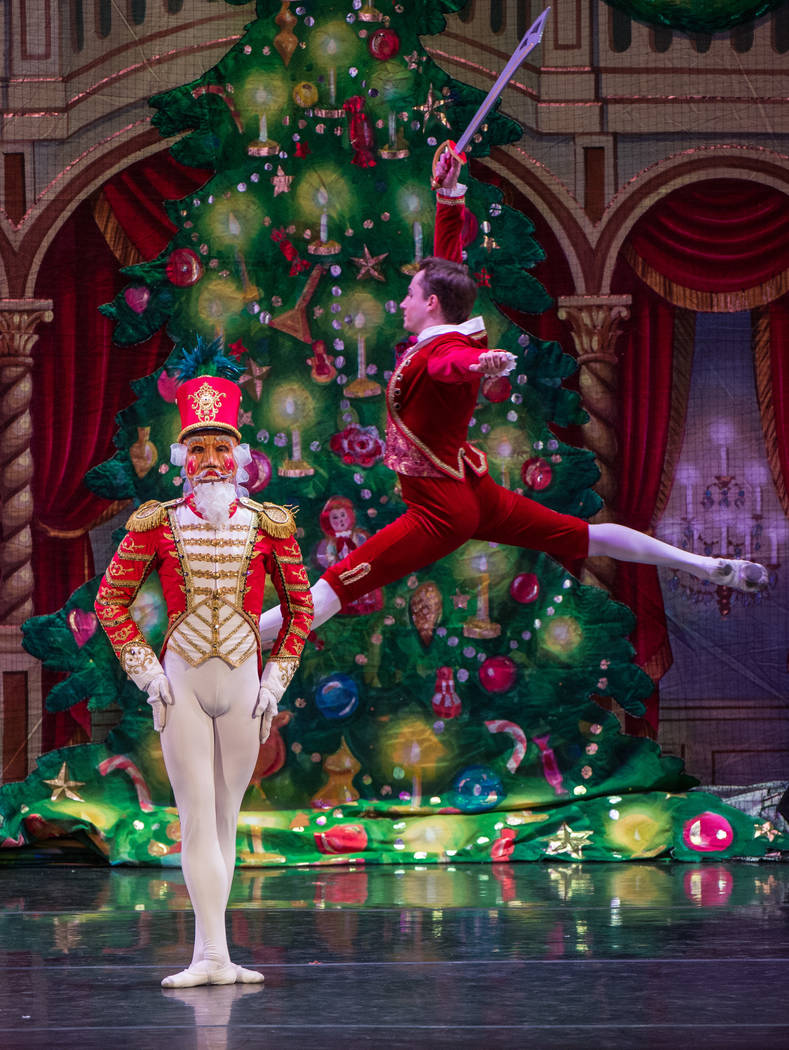 "Moscow Ballet The final event at Cashman Center's 1,900-seat theater: Tuesday's ""Great Russian Nutcracker"" performance by the Moscow Ballet."