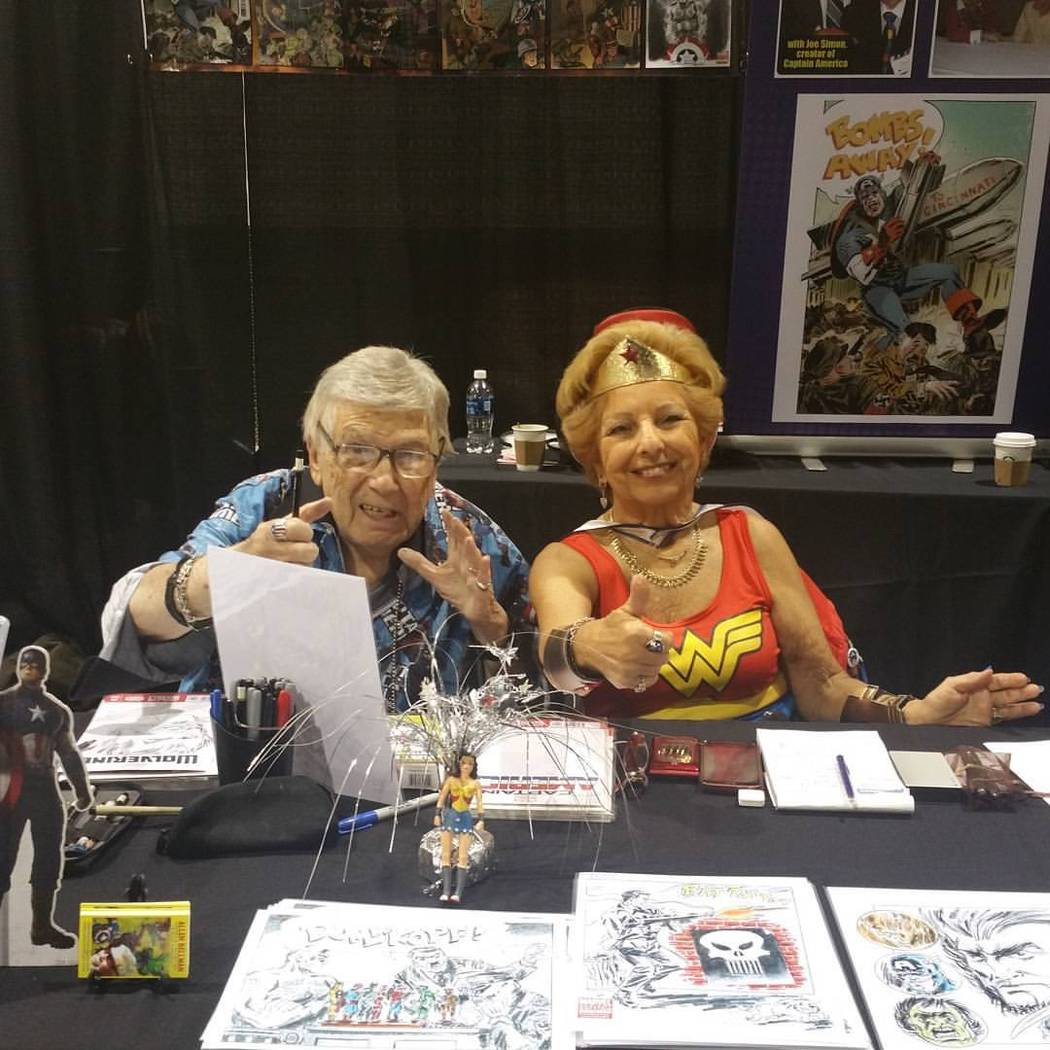 Chandler Rice/Great American Comic Con Las Vegas Two enthusiastic attendees at 2016's Great American Comic Con Las Vegas.