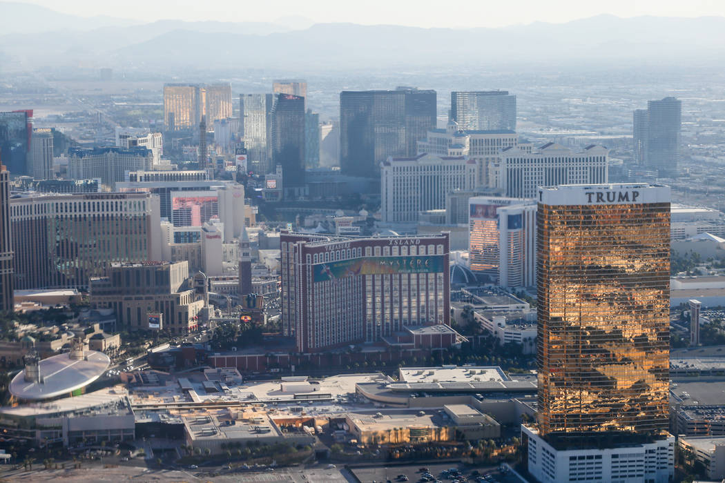 A view of the Las Vegas Strip. Joel Angel Juarez Las Vegas Review-Journal @jajuarezphoto