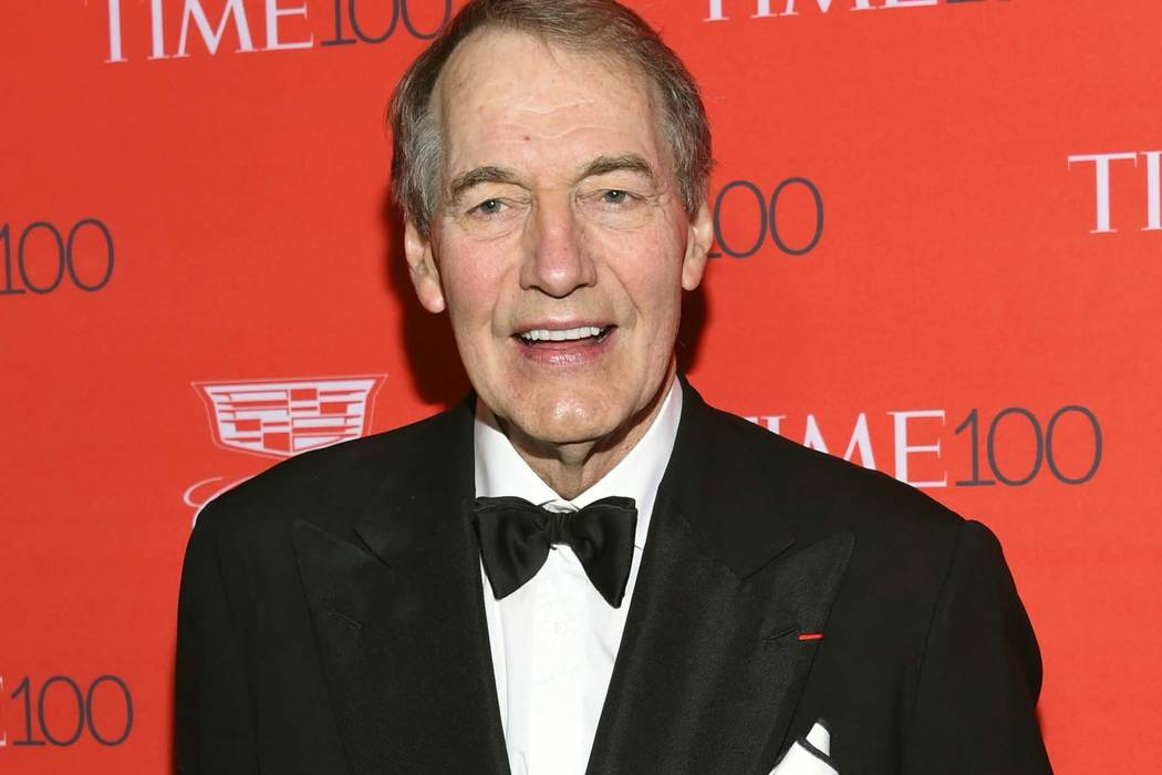 Charlie Rose attends the TIME 100 Gala, celebrating the 100 most influential people in the world in New York, April 26, 2016. Some U.S. universities are reviewing whether to revoke honorary degree ...