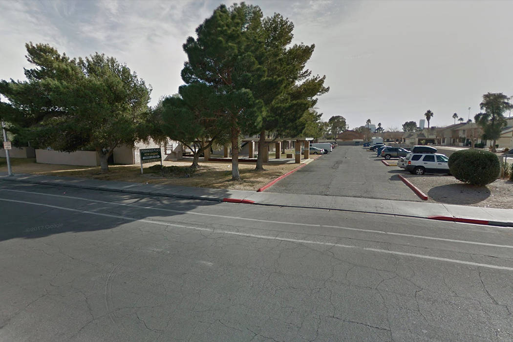 4001 Pennwood Ave. in Las Vegas. Google Street View.
