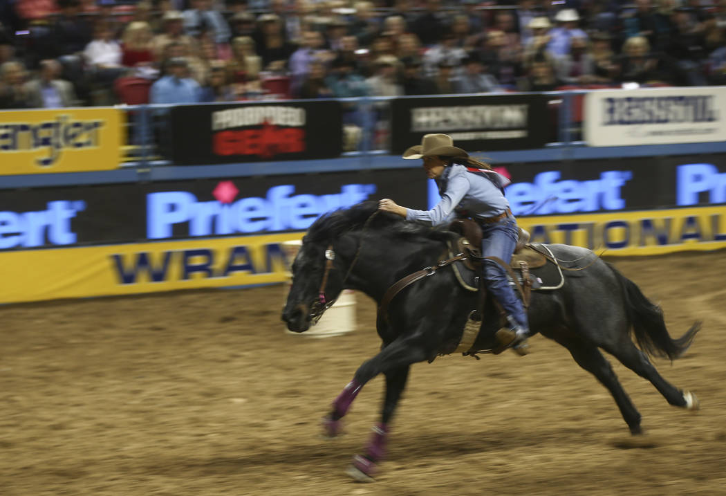 Former UNLV cowgirl Nellie Miller competes in the NFR | Las