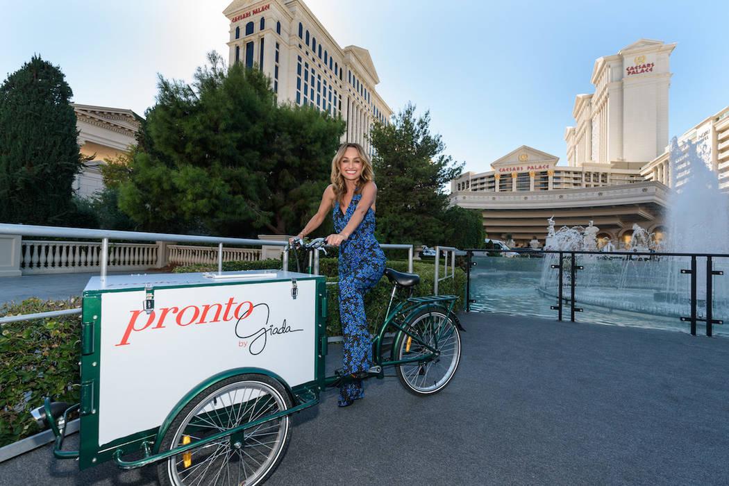 "Giada De Laurentiis Announces Plans to Open Second Las Vegas Restaurant ""Pronto by Giada"" at Caesars Palace in Early 2018. (Patrick Gray/Erik Kabik Group/Caesars Entertainment)"