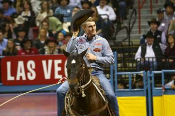 Wnfr Keeps Going After The Sun Goes Down Las Vegas