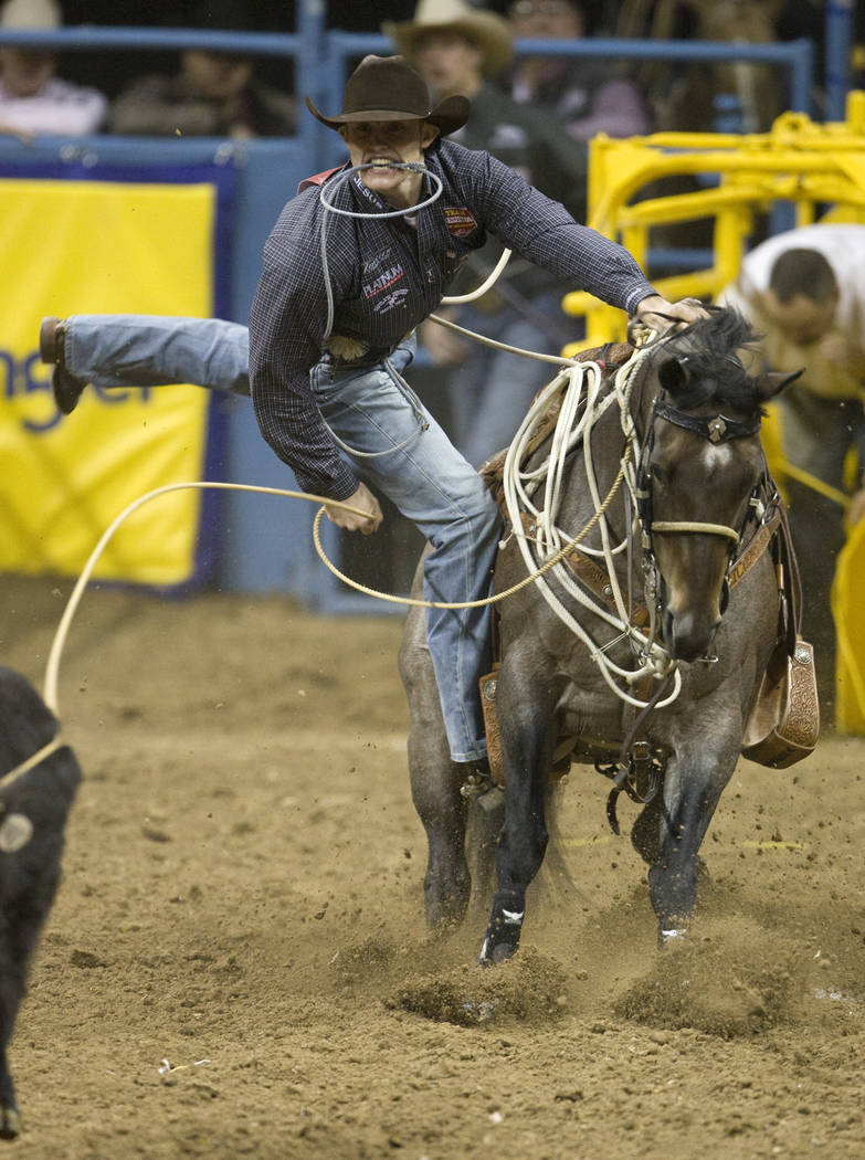 Tie-down roper Tuf Cooper is looking to not only earn a fourth world championship in that event, but also claim his first all-around gold buckle. Cooper enters the 2017 Wrangler NFR second in the  ...