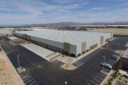 Pilot Freight Services, based near Philadelphia, wants to use this Las Vegas Valley warehouse for clients' long- and short-term storage. (Pilot Freight Services)