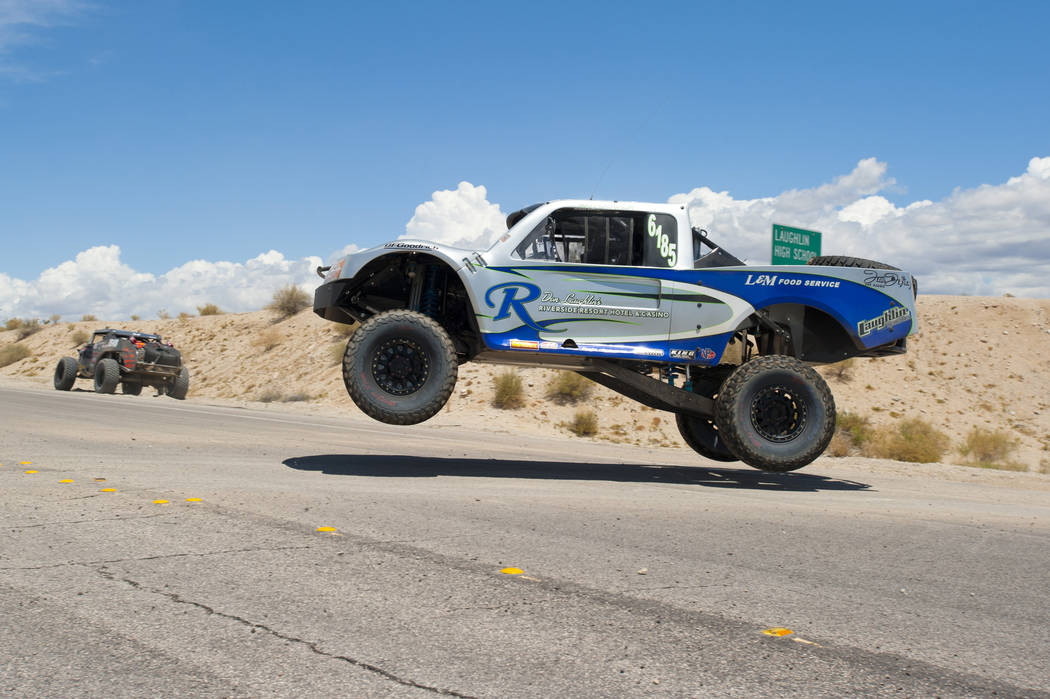 SNORE A strong field of trucks is expected for the McKenzie's Rage at the River at Laughlin Dec. 8-10. Among the entries is Riverside Resort executive Matt Laughlin, who will drive a 6100 entry.