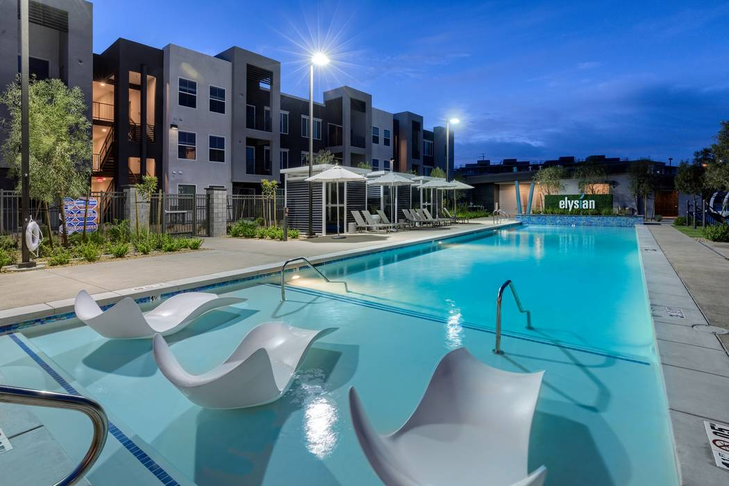 The Elysian at Stonelake apartment complex in Henderson recently sold for $84.6 million. The Calida Group