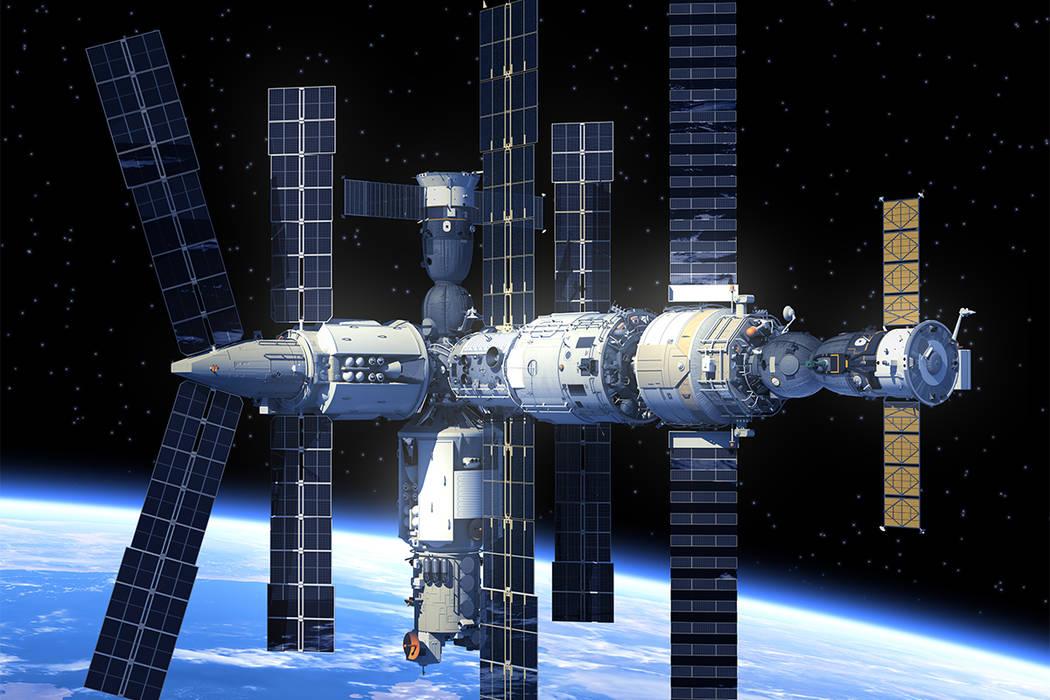 The International Space Station (Thinkstock)