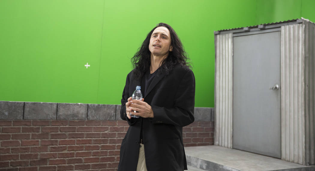 "James Franco portrays Tommy Wiseau in ""The Disaster Artist."" Photo by Justina Mintz, courtesy of A24"