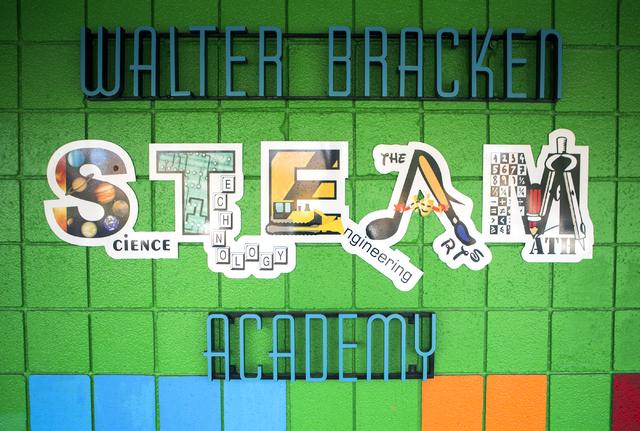 Bracken Elementary School,1200 N. 27th St., is one of 54 nationally recognized Title I schools in the country. Jeff Scheid/Las Vegas Review-Journal Follow @jeffscheid