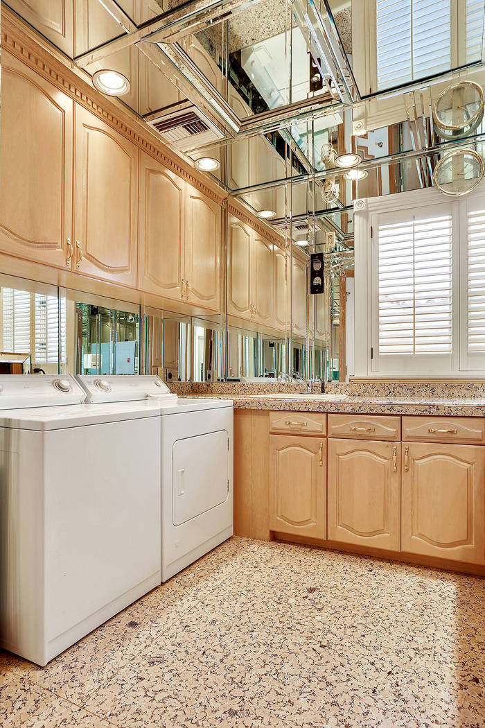 The laundry room. (Luxury Estates International)