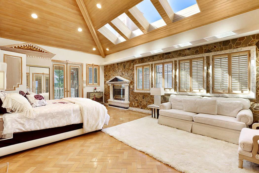 The master bedroom. (Luxury Estates International)