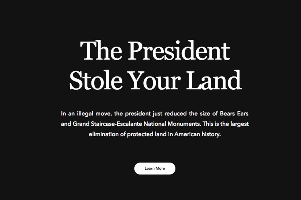 Outdoor goods retailers Patagonia, REI and the North Face are firing back against President Donald Trump's executive order this week that would drastically reduce the size of two national monume ...