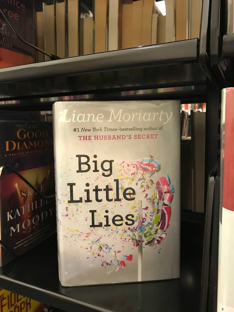 """Spring Valley branch manager Leah Ciminelli loves everything """"chick lit"""" and enjoyed reading Liane Moriarty's """"Big Little Lies"""" this year. (Madelyn Reese/View) @MadelynGReese"""