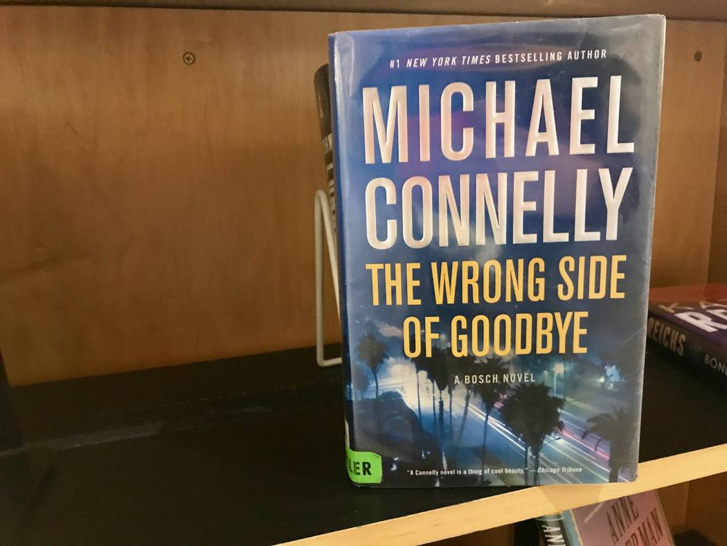 Spring Valley branch manager Leah Ciminelli has a list of favorite fiction authors that she always reads, including Michael Connolly. (Madelyn Reese/View) @MadelynGReese