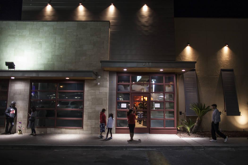 The exterior of the new second location of Lotus of Siam, a thai restaurant, in Las Vegas, Sunday, Dec. 10, 2017. Rachel Aston Las Vegas Review-Journal @rookie__rae