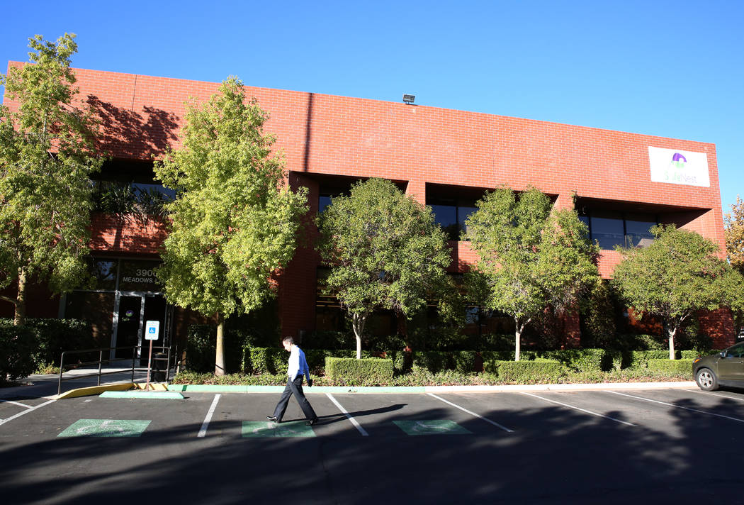 The new Safe Nest office and treatment center at 3900 Meadows Lane photographed on Thursday, Dec 7, 2017, in Las Vegas. The new location will provide the ability to welcome new clients, treat prog ...