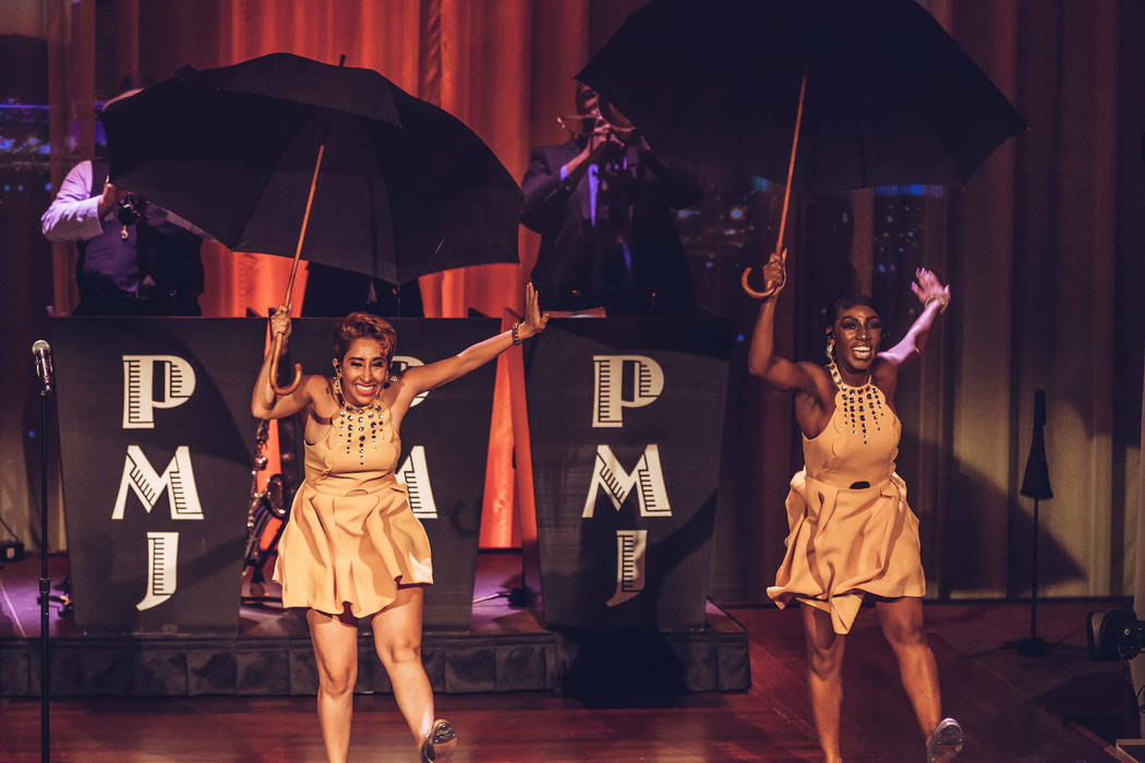 Postmodern Jukebox tappers at The Smith Center (Stacie Hess/PBS)