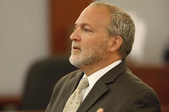 Chief Deputy District Attorney Marc DiGiacomo (John Locher/Las Vegas Review-Journal)