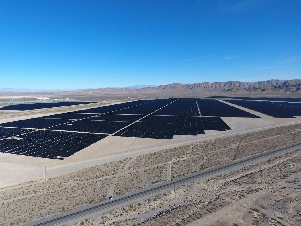 EDF flicks PV switch in Nevada