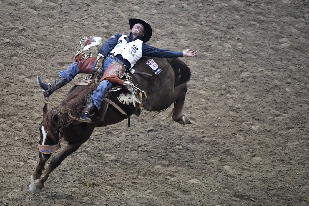 2017 National Finals Rodeo First Go Round Photos Las