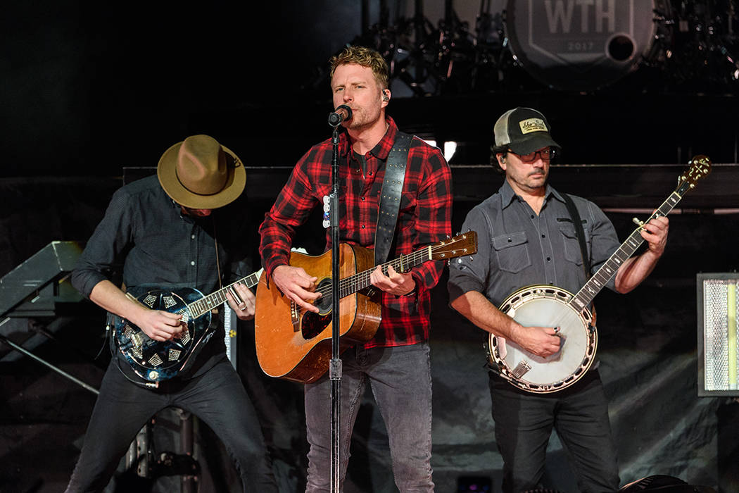 Dierks Bentley performs Friday night at The Chelsea, inside The Cosmopolitan of Las Vegas. Photo credit: The Cosmopolitan (Patrick Gray/Erik Kabik Photo Group)