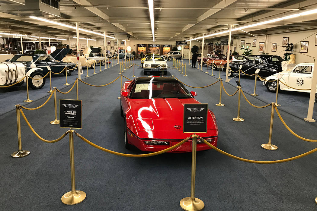 Longrunning Auto Collection On Las Vegas Strip Shutting Its Doors - Linq car show