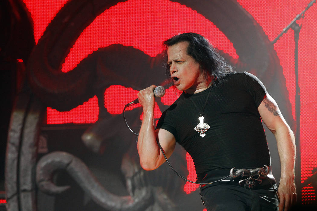 Glenn Danzig of heavy metal band Danzig performs at the fifth annual Golden Gods awards at Club Nokia in Los Angeles, California May 2, 2013.   REUTERS/Mario Anzuoni  (UNITED STATES - Tags: ENTERT ...