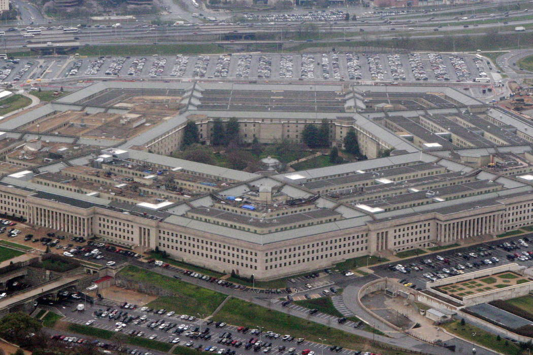An aerial view of the Pentagon. (AP Photo/Charles Dharapak, File)