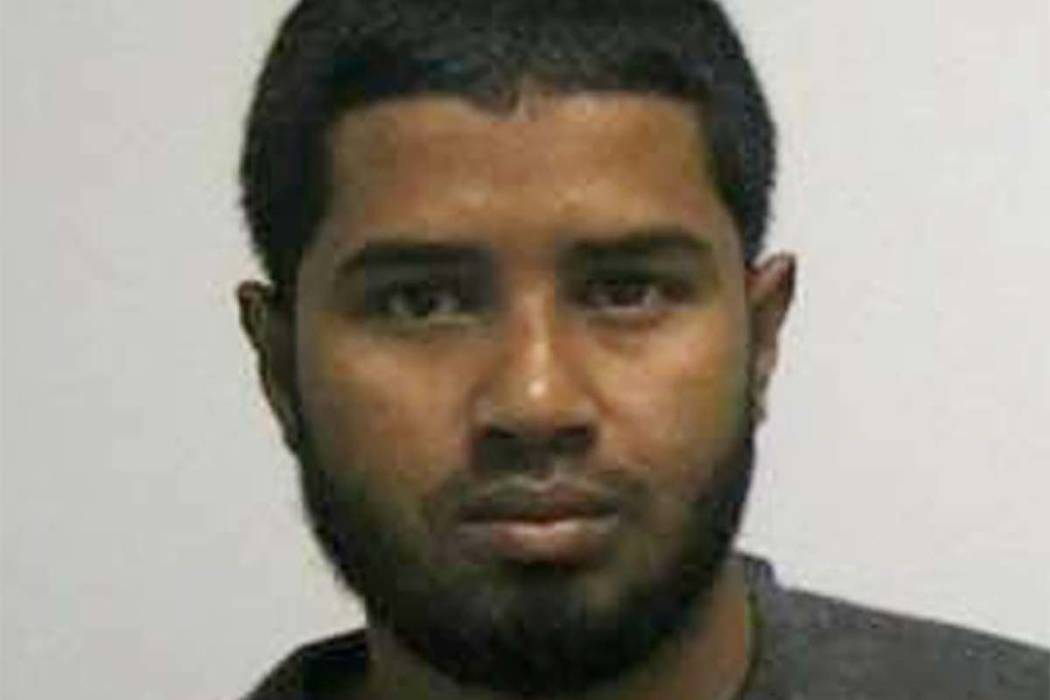 Akayed Ullah, a Bangladeshi man who attempted to detonate a homemade bomb strapped to his body at a New York commuter hub during morning rush hour is seen in this handout photo received December 1 ...