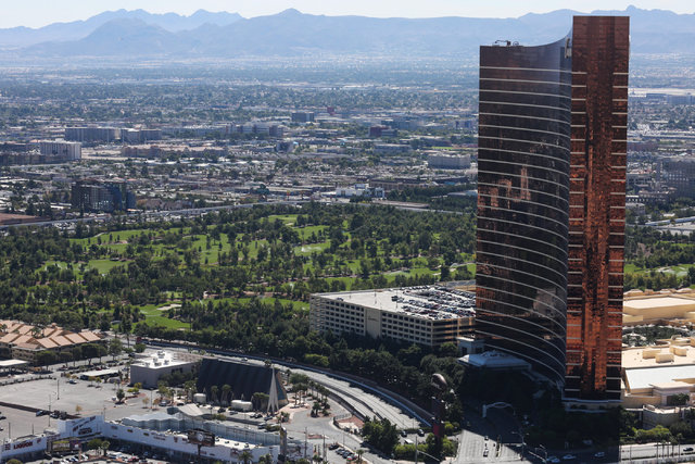 The Wynn Golf Club in Las Vegas is seen on Monday, Sept. 26, 2016. Brett Le Blanc/Las Vegas Review-Journal Follow @bleblancphoto