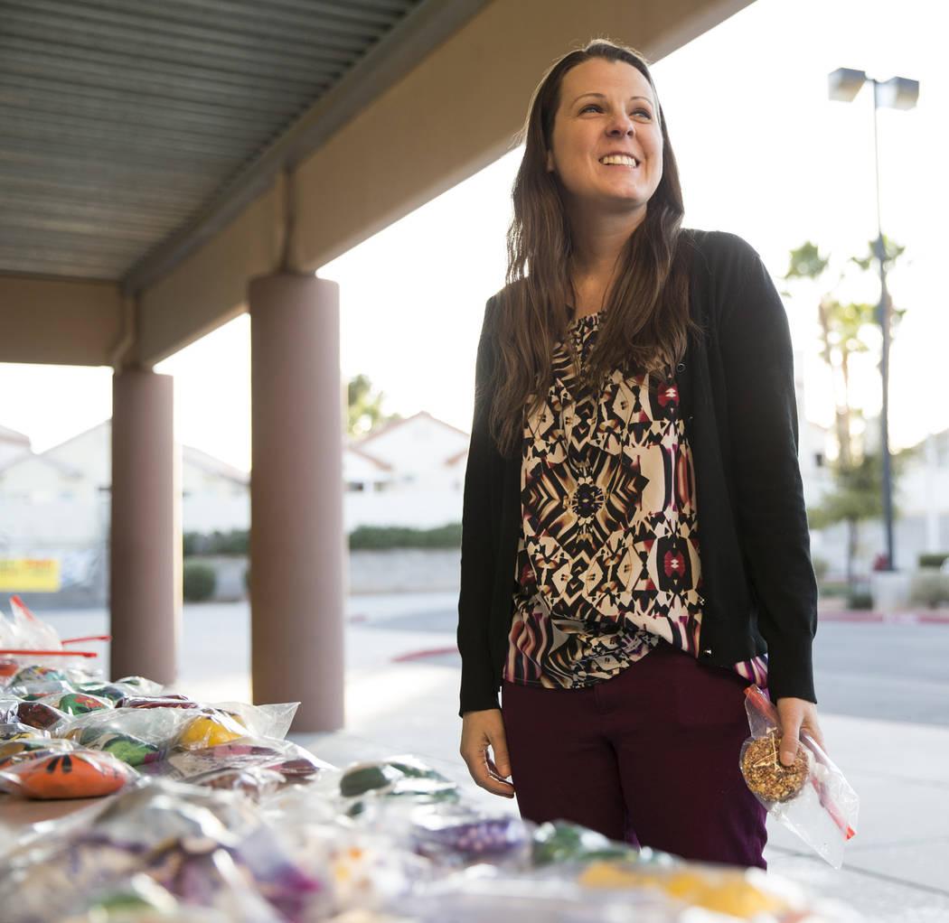 Clark County School District Board of Trustees member Lola Brooks at Piggott Elementary School in Las Vegas, Wednesday, Dec. 13, 2017. Erik Verduzco Las Vegas Review-Journal @Erik_Verduzco