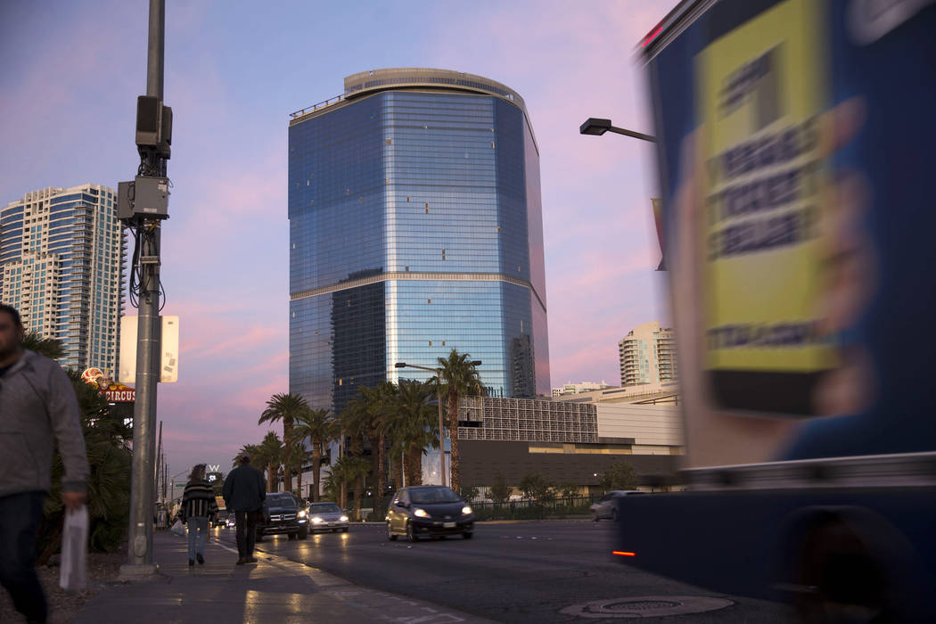 The unfinished Fontainebleau project on the Vegas Strip, Wednesday, Dec. 13, 2017. Richard Brian Las Vegas Review-Journal @vegasphotograph