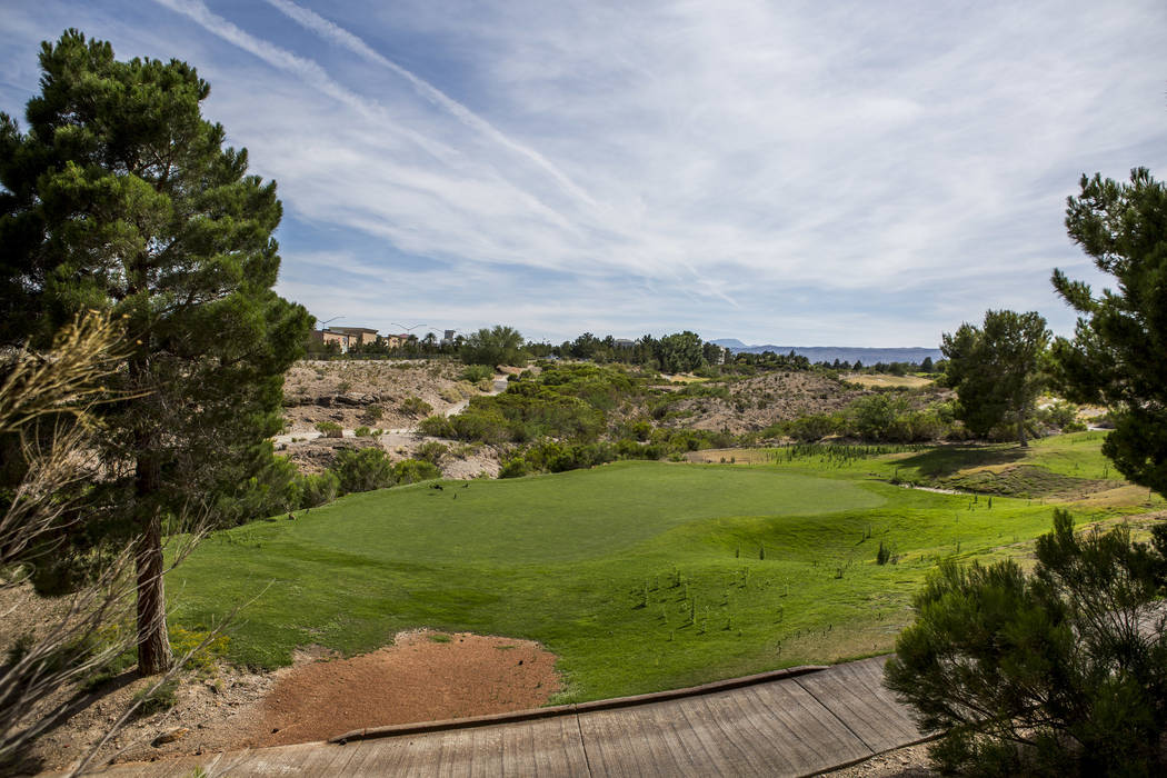 The 250-acre site of a closed Badlands golf course is now slated for the development of condos, estate lots and a hotel, photographed on Tuesday, June 6, 2017.  Patrick Connolly Las Vegas Review-J ...