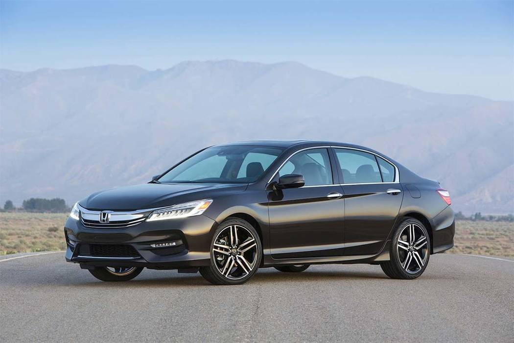 The 2017 Honda Accord is a well-rounded vehicle, Edmunds described. (Courtesy of American Honda Motor Co., Inc. via AP)