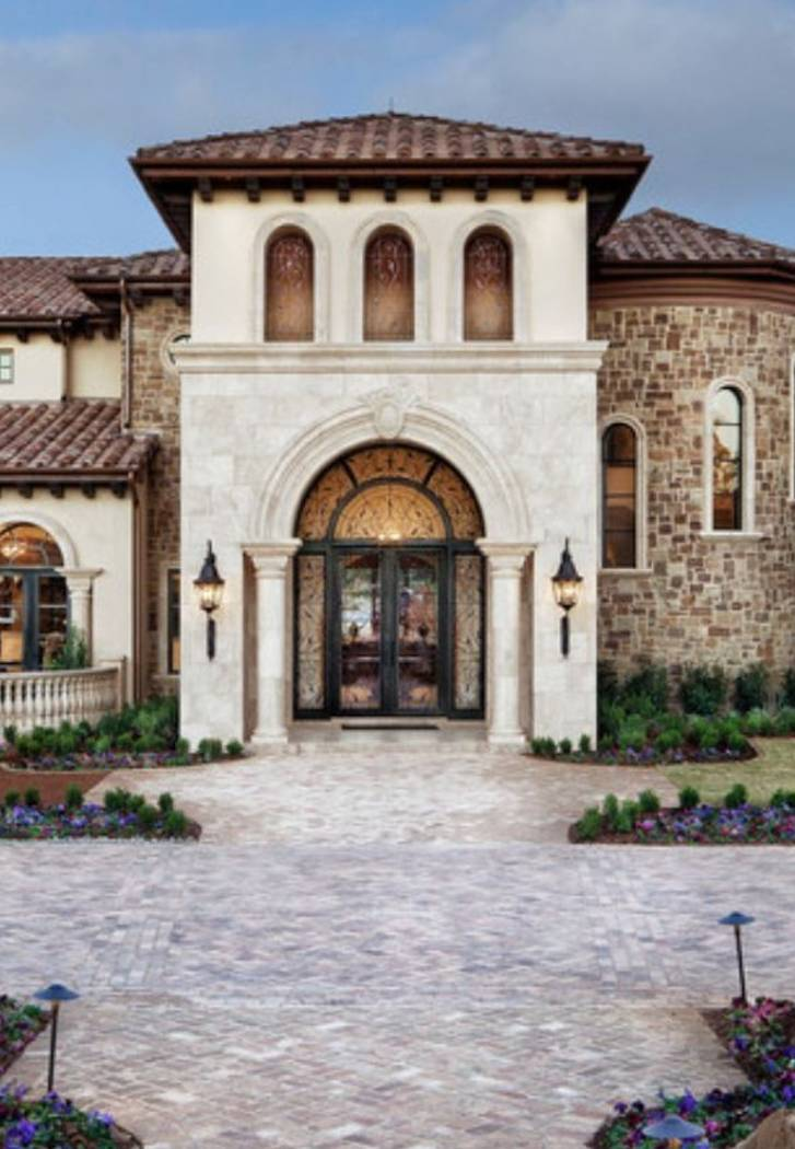 Donna Johnson, owner of Southern California-based Luxury Designer, which also has an office in Las Vegas, said  the trend for homeowners are moving away from Tuscan-style homes. (Luxury Designer)
