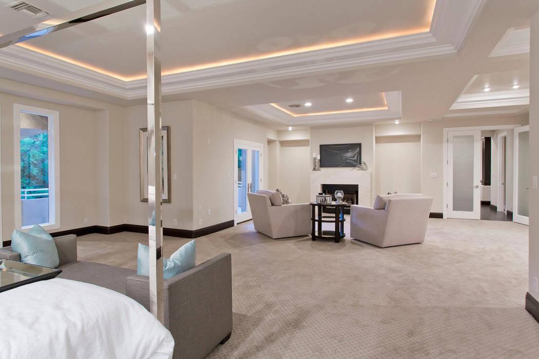 The master bedroom. (Luxury Designer)