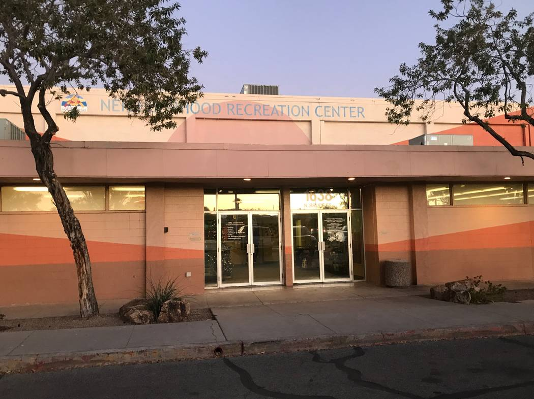 The exterior of the Neighborhood Recreation Center, 1638 N Bruce Street. (Kailyn Brown/View) @KailynHype