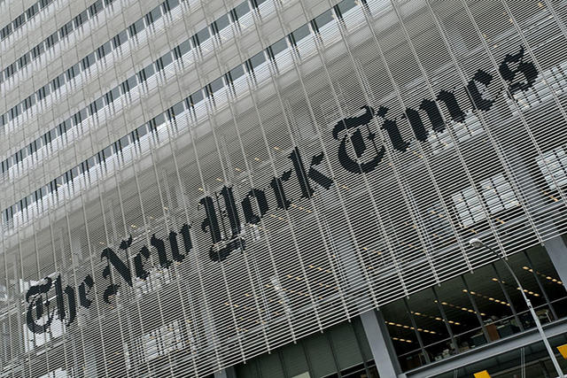 NYT publisher stepping down, to be succeeded by son