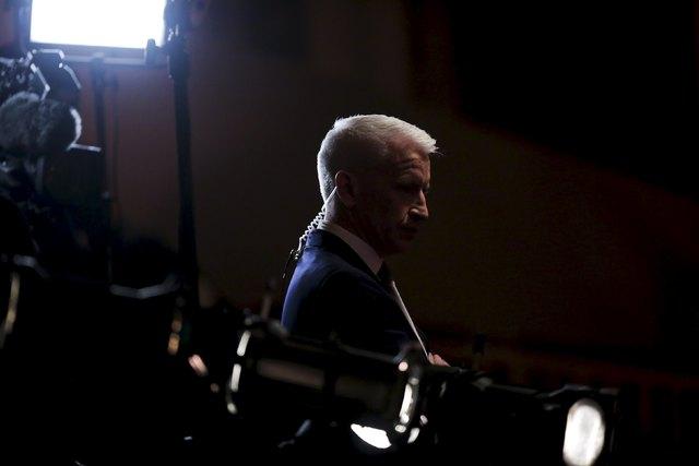 CNN anchor Anderson Cooper. REUTERS/Ben Brewer