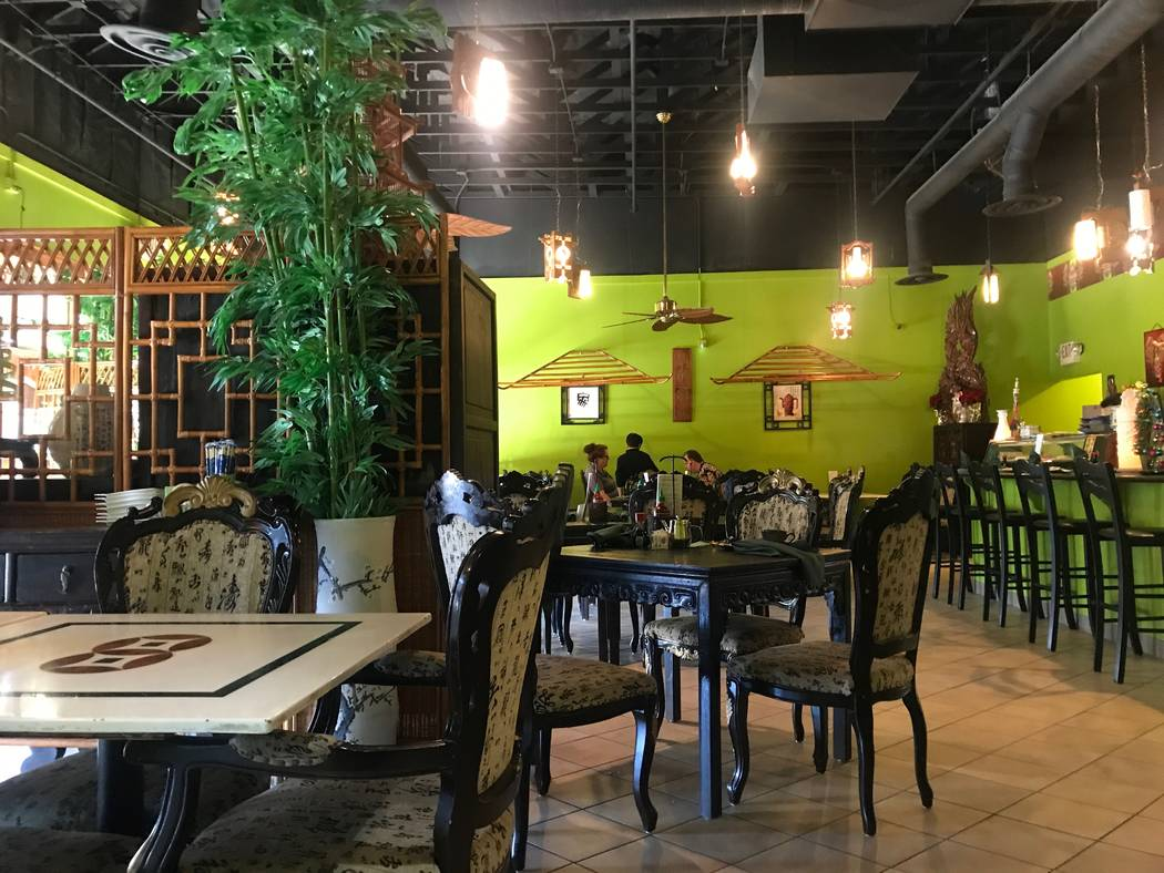 The inside of of Thai Basil located at 2696 W. Ann Road. (Kailyn Brown/View)