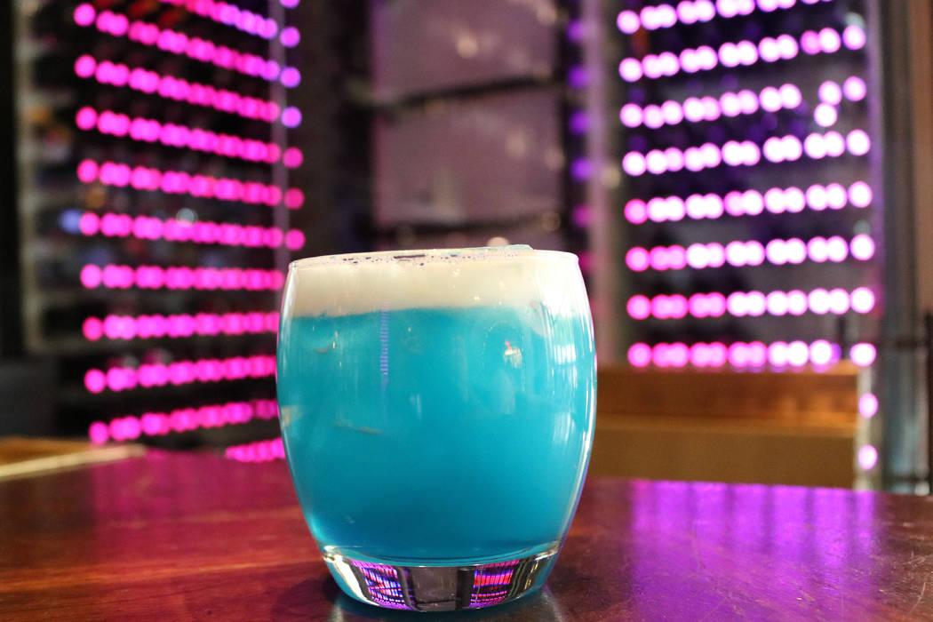 Eight Crazy Nights cocktail (Janna Karel/Las Vegas Review-Journal)