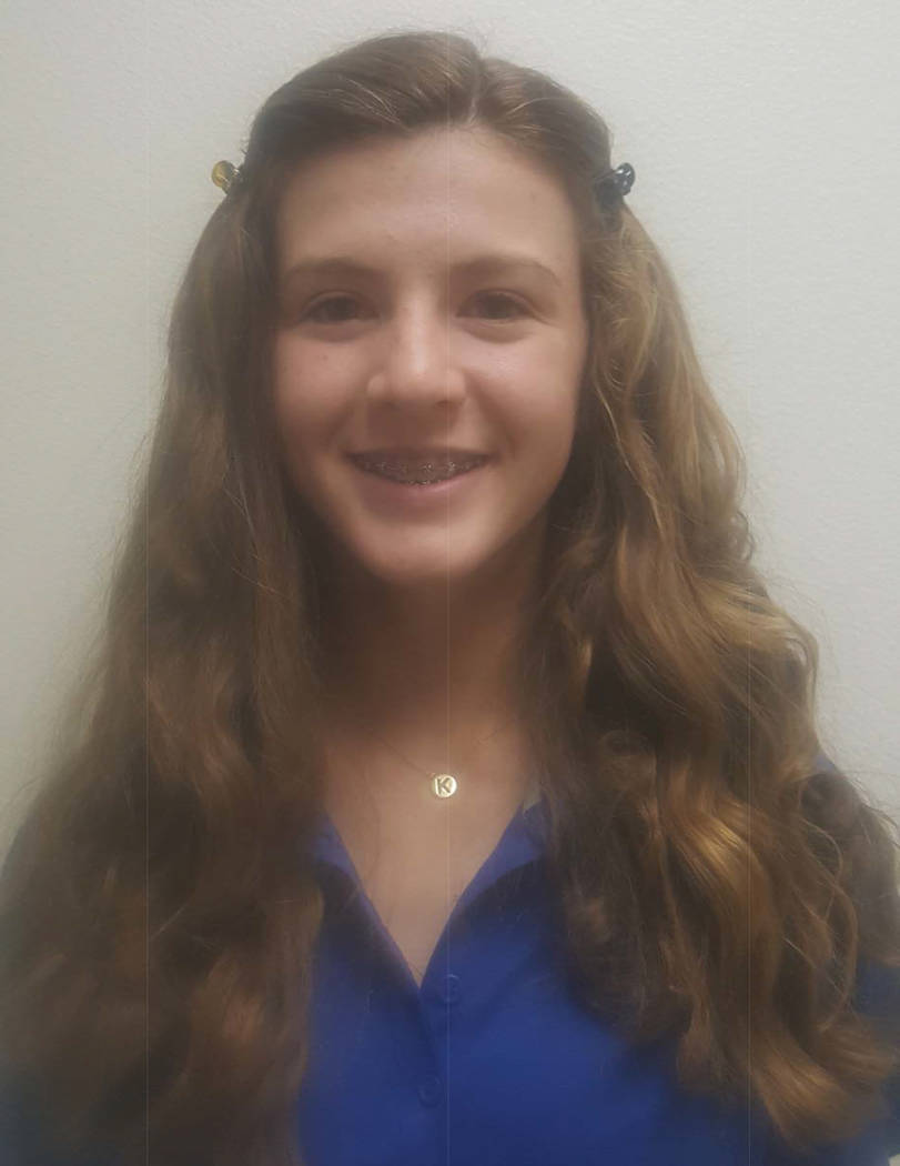 Carson's Karen Beglin is a member of the Review-Journal's all-state girls golf team.
