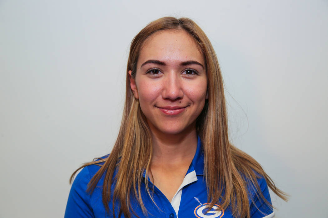 Bishop Gorman's Hunter Pateis a member of the Review-Journal's all-state girls golf team.