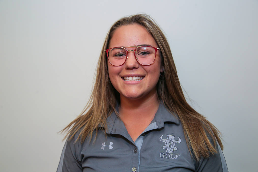 Arbor View's Kendall Newman is a member of the Review-Journal's all-state girls golf team.
