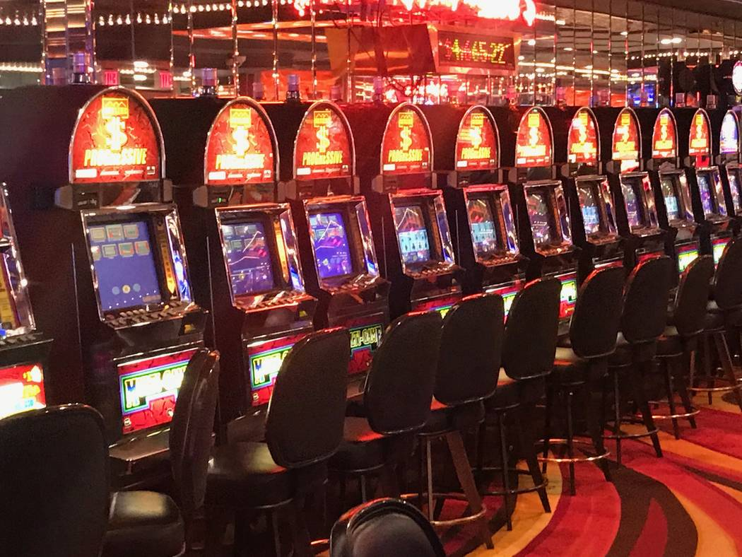 Skyline Casino, a neighboring gaming joint in Henderson, seen Dec. 13, 2017, offers about 400 slot machines and a few table games. (Todd Prince/Las Vegas Review Journal)